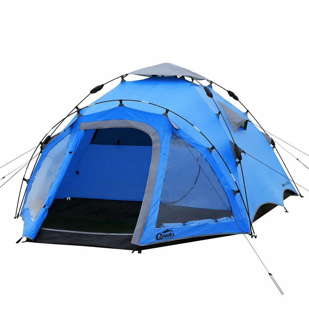 Selbstaufbauendes Zelt